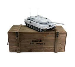 1:16 Torro Leopard 2A6 RC Tank 2.4GHz Infrared Metal Edition