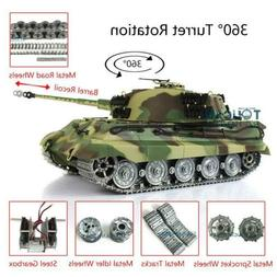US Stock Henglong 1/16 Scale 6.0 King Tiger RC Tank Model 38