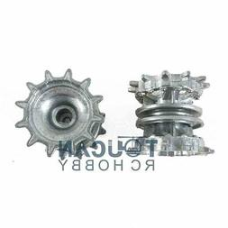 1/16 Scale Full Metal Driviing Wheels Sprocket HengLong T90