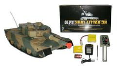 """16"""" 1:24 RC Airsoft Battle Leopard Military Tank NEW w/ Ligh"""