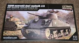 1/24 M4A3 US Sherman RC Tank 2.4GHz Infrared RTR Forces of V