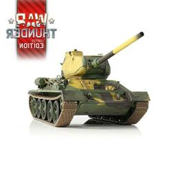 1:24 Russian T-34/85 RC Tank 2.4GHz Infrared RTR War Thunder