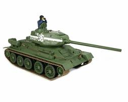 1/24 Russian T-34/85 RC Tank 2.4GHz Infrared RTR Forces of V
