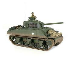 1/24 U.S M4A3 Sherman RC Tank 2.4GHz Infrared RTR Forces of