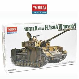 Academy #13233 German Panzer IV H With Armor Tank Scale 1/35