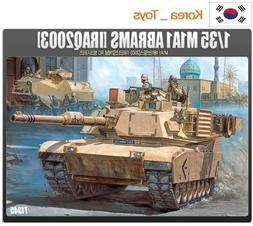 Academy #13272 1/35 Plastic Model Kit Motorized ABRAMS IRAQ
