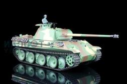 2.4G Henglong 1/16 Scale 6.0 Plastic German Panther G RTR RC