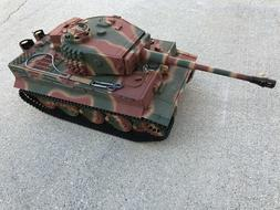 2.4Ghz 1/16 German Tiger 1 Late Version Plastic Edition R/C