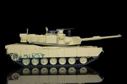 2.4Ghz Henglong 1/16 Scale 6.0 Plastic Ver M1A2 Abrams RTR R