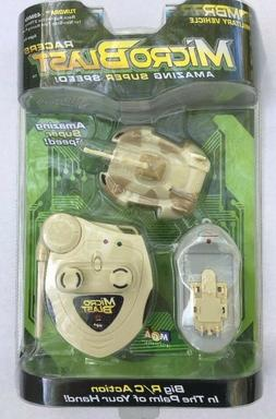 NEW 2003 MGA Microblast Racers RC 49MHZ Military Vehicle Tun