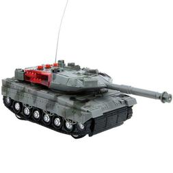 4 Channel Charging RC Tank Toy RC Military Model Toys Kids X