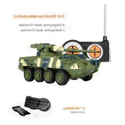 Create Toys 8021 RC Battle Tank Car Remote Control RC Toy fo