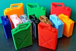 Choose Your Color RC 1/10 Scale Gas Fuel Jerry Can Tank Rock