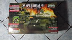 Forces Of Valor Russian T34/85 Battle Beam R/C Tank 1:24 Sca