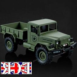 HENG LONG 1:16 SCALE 2.4G RC 4X4 MILITARY ARMY TRUCK HENGLON