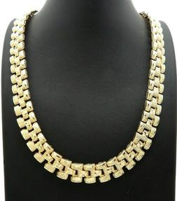 """Hip Hop Chunky 13mm 24"""" Tank Chain 80',90' Fashion Necklace"""