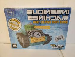 Ingenious Machines Build Your Own RC Tank 145 Pieces NEW SEA