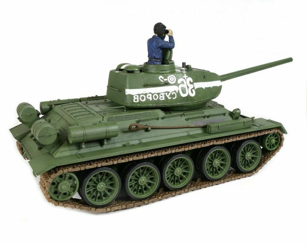 1/24 Russian T-34/85 Tank 2.4GHz Forces of Valor