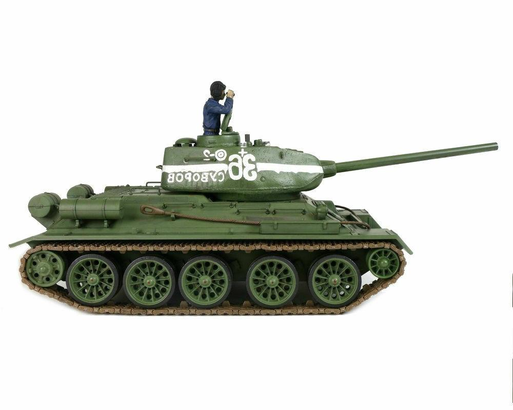 1/24 T-34/85 RC Tank 2.4GHz RTR Forces