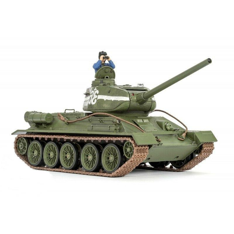 1:24 Russian T-34/85 RC Tank 2.4GHz Infrared RTR Forces of V