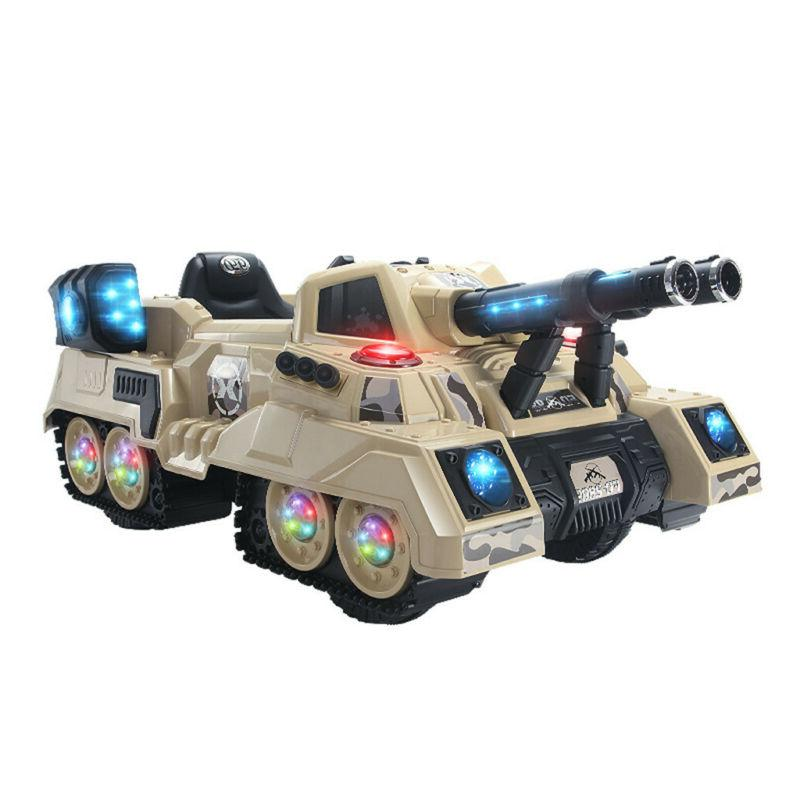 2.4Ghz Crawler Truck Manned Mode Kid RC Ride Tank Car RTR