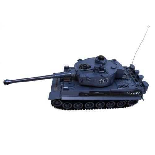 RC Tanks of 2 Size Infrared Radio Remote Battle