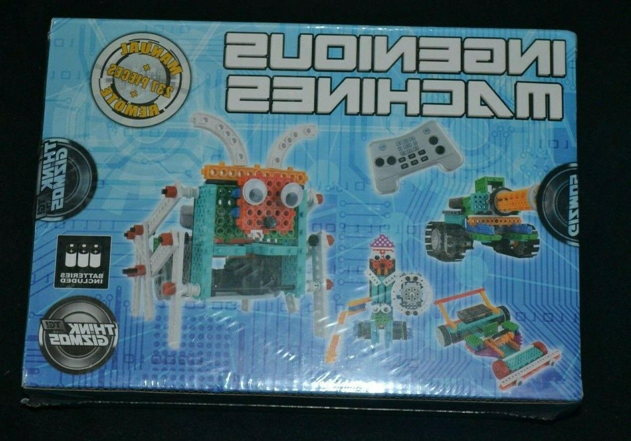 think gizmos 237 pieces build your own