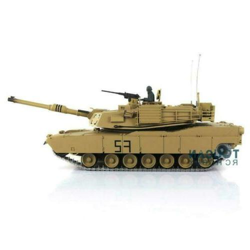 US Stock Henglong 1/16 6.0 Upgraded Metal M1A2 Abrams RTR RC