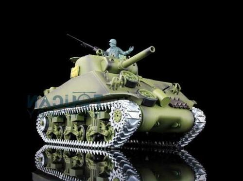 US Stock HengLong 1/16 6.0 3898 M4A3 Sherman RC Tank Upgrade