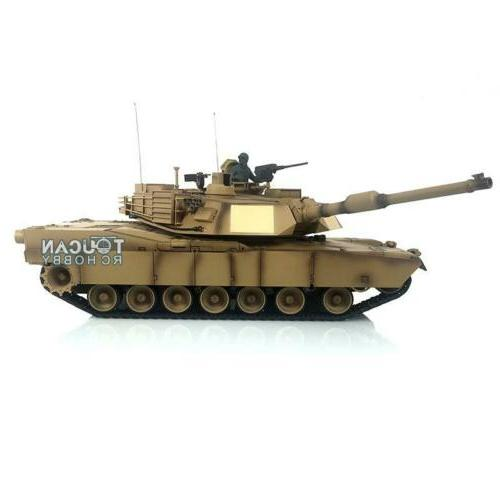 US Stock Henglong 1/16 Scale 6.0 Plastic Ver M1A2 Abrams RTR
