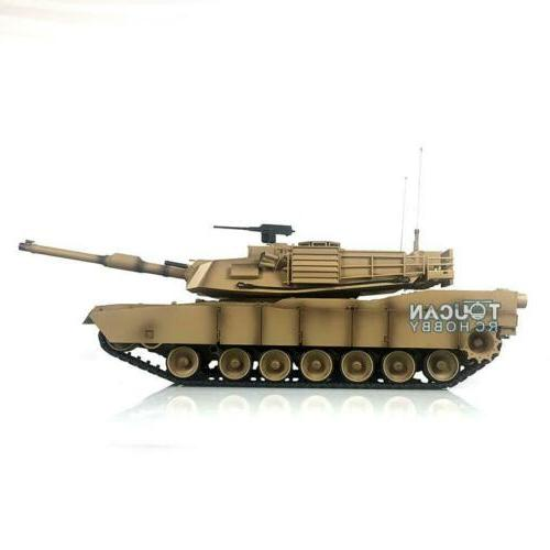 US Stock 2.4G 1/16 HengLong 6.0 Plastic Ver M1A2 Abrams RTR