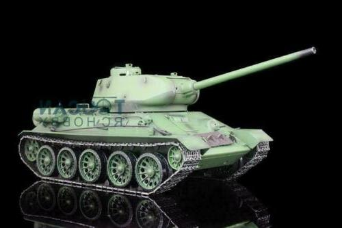 US Stock 1/16 Scale Henglong 6.0 Plastic Ver Soviet T34-85 R