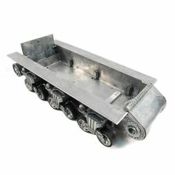 Mato Metal Chassis With Suspension And Road Wheels For 1/16