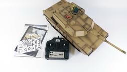 Radio Control RC Tank M1A1 Abrams with Realistic Sound LARGE