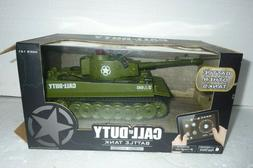NOS Call of Duty RC Battle Tank Limited Edition Green Tiger