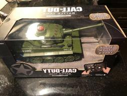 OFFICIAL Call of Duty Tiger 1 RC Battle Tank Green LIMITED E