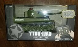 OFFICIAL Call of Duty Tiger 1 RC Battle Tank - Green - LIMIT