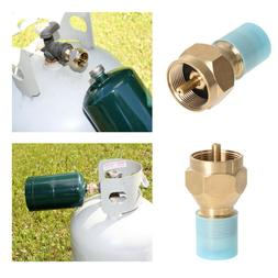 Propane Refill Adapter Lp Gas Cylinder Tank Coupler Heater C