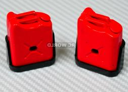 RC 1/10 Scale Accessories FUEL TANK SET Red