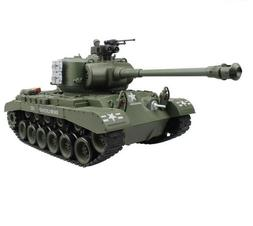RC Battle Tank Model With Shoot Bullet Sounds Boys Tactical