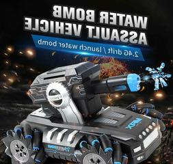 Rc car 1:12 4WD  battle game launches water bomb gesture ind
