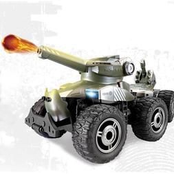 RC Cars Armored Polar War Chariot Launch Bullets Off Road 6