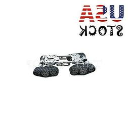 smart rc tank car truck robot chassis