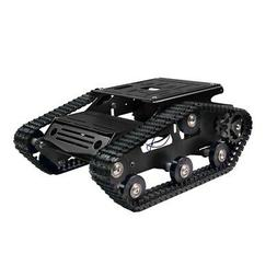 Tracked Tank Chassis CNC RC Tank Chassis for Arduino DIY Unf