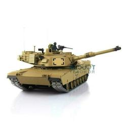 US Stock Henglong 1/16 6.0 Infrared Metal Ver M1A2 Abrams Up