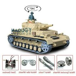 US Stock Henglong 1/16 Scale Upgraded Metal 6.0 Panzer IV F