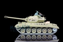 US Stock HengLong 1/16 USA M26 Pershing RTR RC Tank Upgraded