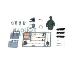 US Stock Plastic Spare Parts Bag for HengLong 1/16 Tiger I R