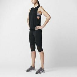Nike Women's Elastika Biker Dri-FIT Tank Top