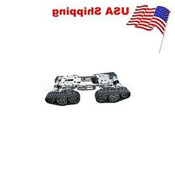 WZY569 Intelligence RC Tank Car Truck Robot Chassis CNC Allo